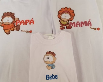 Personalized T-shirts for the whole family