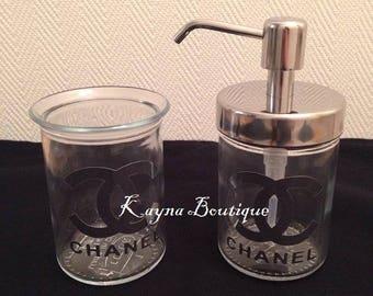 Dispenser SOAP & Goblet Chanel