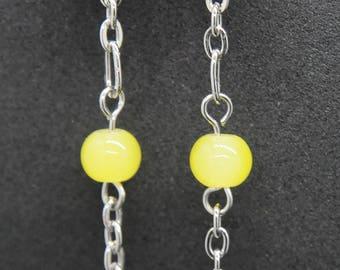 SALE! Pac-Man Earrings, Shoulder Duster Earrings