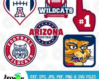 University of Arizona SVG, Football Wildcats SVG, Arizona Wildcats Clipart, Arizona University,  Instant Download, 60