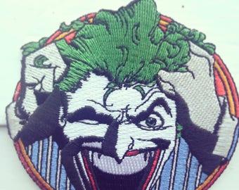 Joker patch DC comic patch/DC comics/Joker/Patches/The Joker