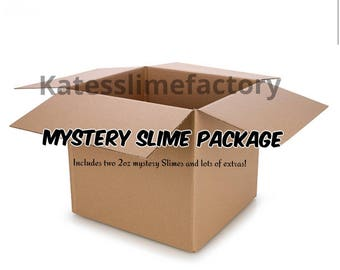 Mystery Slime Package * 2 - 2 oz. SLIMES and EXTRAS!*
