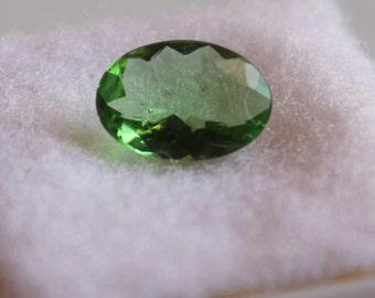 1.50 ct Natural Tsavorite Oval 6.9x9.9 mm Faceted-Tsavorite Garnet High Quality Gemstone