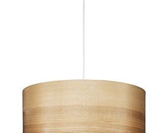 Pendant Lamp - Wood Chandelier - Scandinavian Lamp - Wooden Lamp - Natural Wood Art - Veneer Lamps - Gift for Housewarming