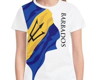 Barbados Ladies Classic Flag Shirt 2.0