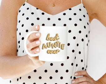 Best Auntie Ever Mug, Mug for Auntie, Gift for Her, Best Auntie Mug, Gift for Her, Gift for Auntie, New Auntie Gift, Baby Announcement