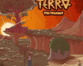 Here on Terra: The Journey Perfect Bound Graphic Novel