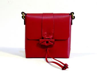 Leather bag, handmade, women bag