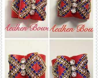 Bows for show dogs and pet