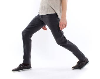 Hemp Pants, Hemp Jeans, Men, Organic Fashion, Handmade, Vegan, 100% Hemp