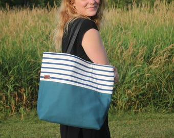 Hand Painted Casual Day Bag