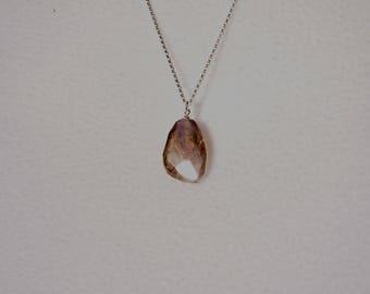 Stylish Natural Ametrine Gemstone Necklace!