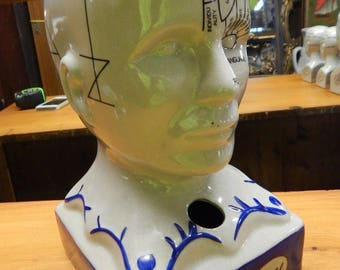Phrenology Head 13""