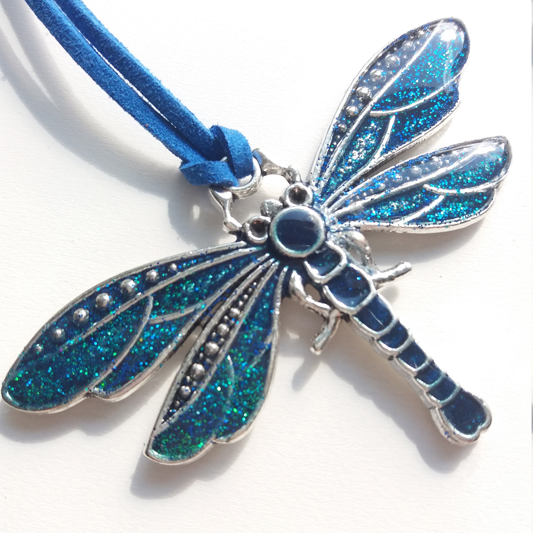 click item ruby expand dragonfly diamond emerald sold lane full to necklace pendant