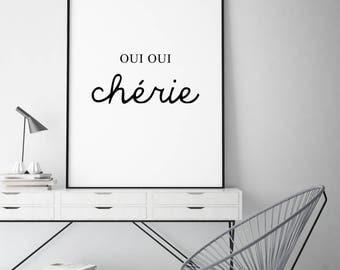 Poster: Oui oui chérie