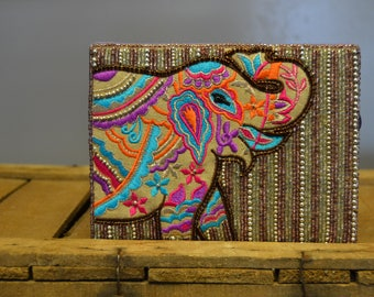 Elephant Jewelry Box with a small defect