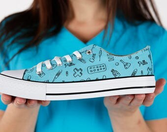 Pharmacy Shoes - Free Shipping US/CA! Fashion Sneakers For Pharmacists - Perfect present.