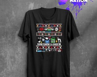 Christmas Friends TV Show Shirt Gift Christmas Idea Friends Gift Friend Gift Friends TV Show Movie Shirt Printed Tumblr Graphic Tee BF1042