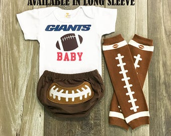 baby boys new york giants football outfit - new york giants baby boy - new york giants baby boy football outfit - boys football leg warmers