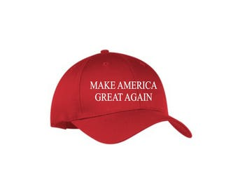 Make America Great Again baseball cap, Trump hat, political hats and sayings