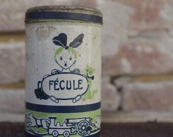 Old box of chocolates Elesca - starch - 1930 - Vintage