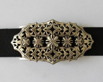 Vintage Belt Buckle Old Silver Belt Buckle