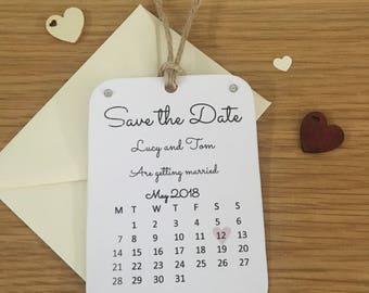 Save the date magnet (calendar 2)