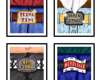 Belt Buckle Collection (includes all four images)