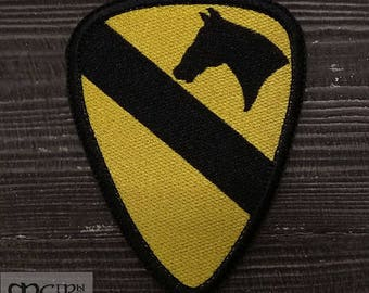 1st cavalry division military patch