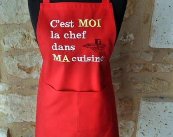 APRON woman belongs to me in my kitchen chef