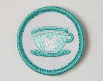 Tea for Two Merit Badge Patch