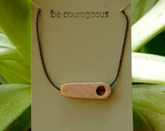 Poplar Wood Necklace