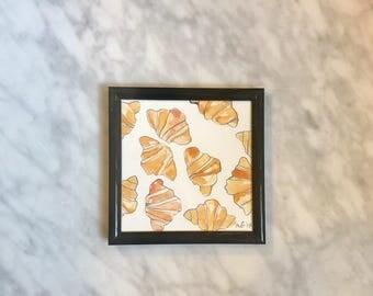 Croissants - mini - framed