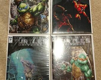 Teenage Mutant Ninja Turtles Universe #1, 3, 5, 6