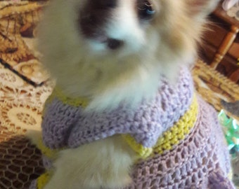 Pretty Princess Canine Dress -small dog 10-15 .lb