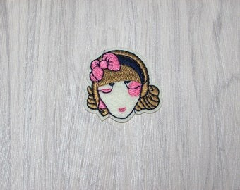 Girl face patch