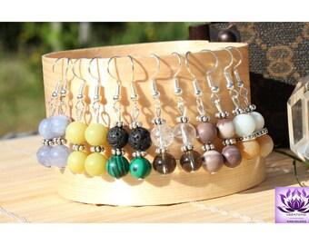 Natural pearls earrings