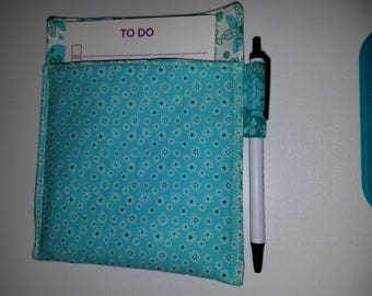 Magnetic Note Pad and Pen Holder