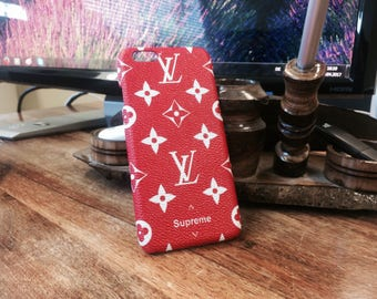 """Louis Vuitton Case Cover for iPhone 6/6s and 7 """"Supreme""""  FREE-SHIPPING"""