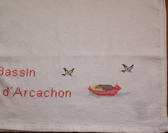 Tea towel Arcachon