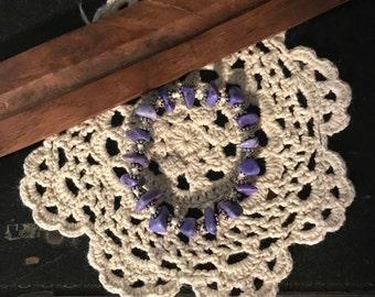 Lovely Lavender Stone Bracelet