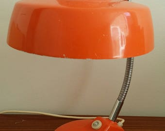 Mid Century, Mid European Orange desk lamp