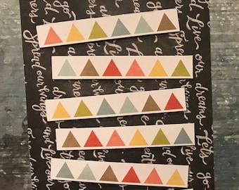 Rainbow Triangle Magnets
