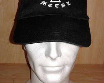 Cross iron metal cap