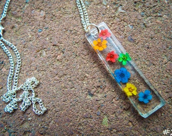 Different Styles, Resin Jewelry, Dried Real Flowers