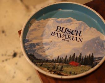 Busch Bavarian Beer Tray 1960s