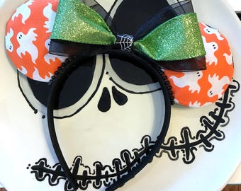 Double-Sided Ghostly Mouse Ears