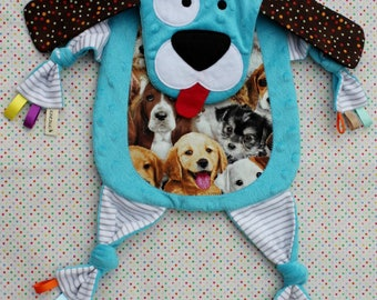 Sensory Snuggle Blankie - Stripe the Dog