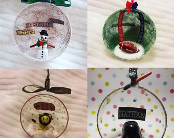 Ball personalized Christmas Decor