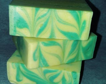 Handmade Soap -Lemon Zest